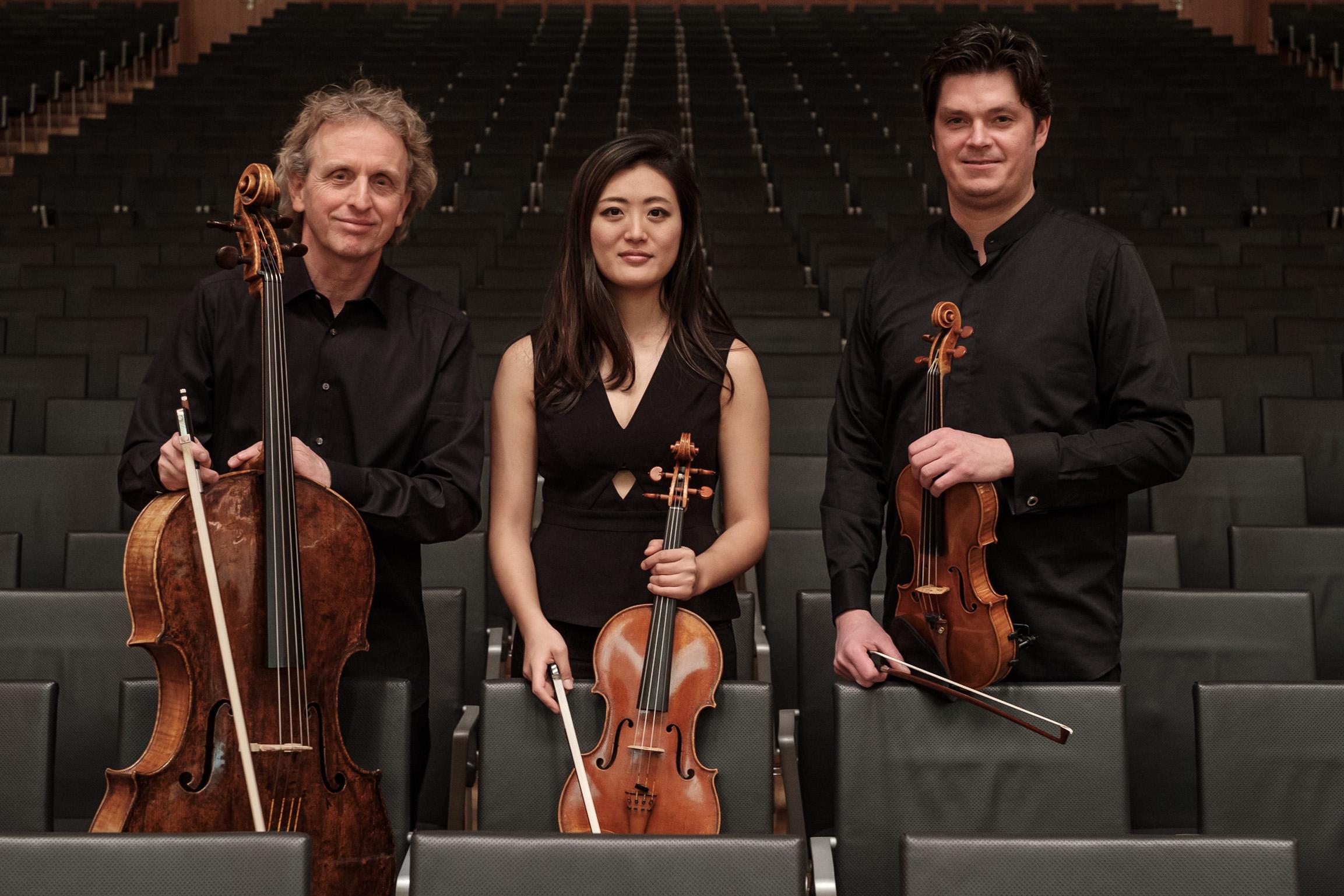 Sonos Trio Streichtrio Kammermusik Duisburger Philharmoniker Matthias Bruns, Coaching, Probespiel, Probespielvorbereitung, Theater Duisburg, Musik, Klassik, Trio, Chambermusic