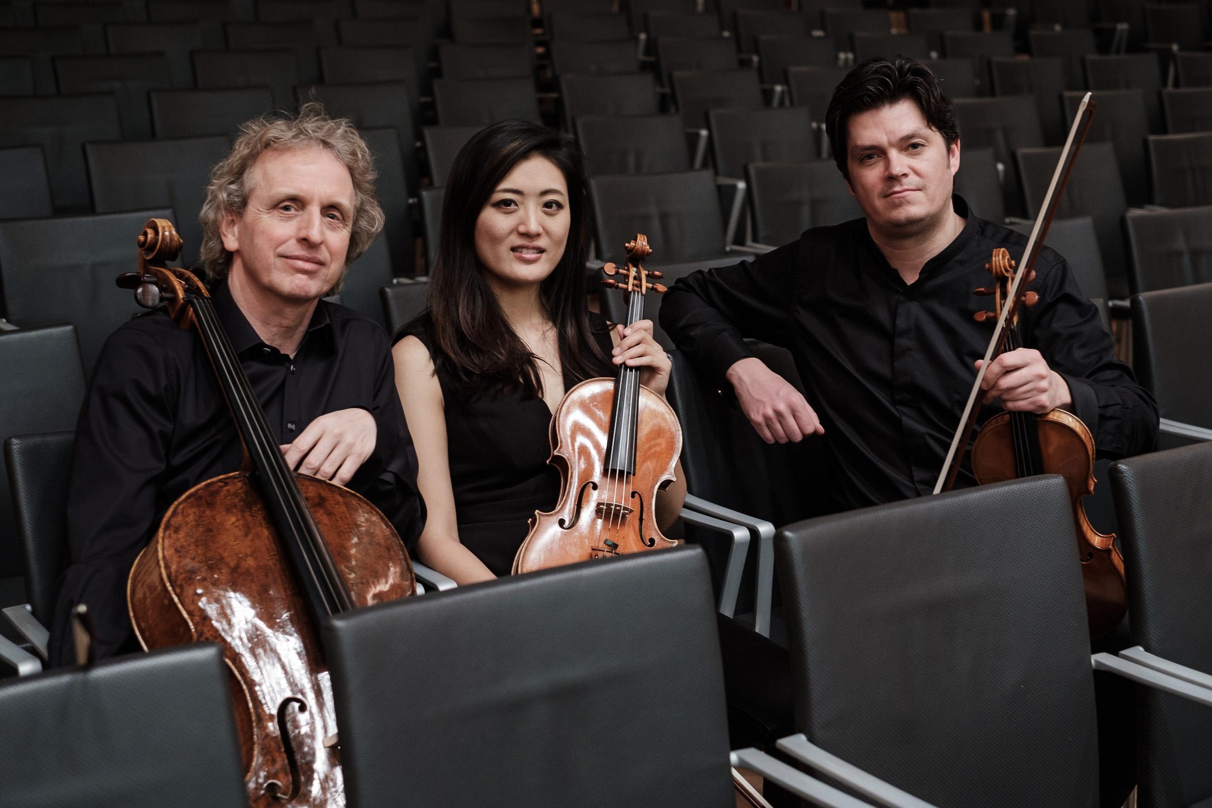 Sonos Trio Kammermusik Streichtrio Mozart Haydn Matthias Bruns Wolfgang Schindler Probespielvorbereitung Coaching Violine Unterricht